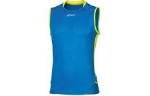 Asics Fuji  tshirt sport Homme Sleeveless, Top bleu
